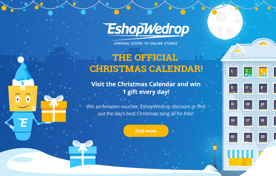Advent calendar website