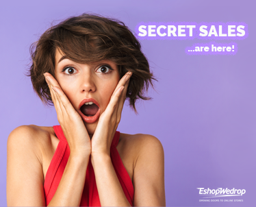 Secret Sales – Deals 2019!