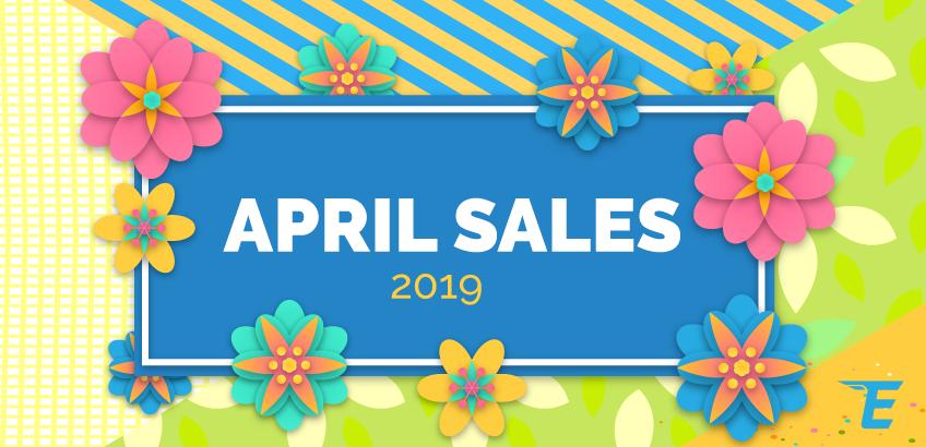 Reducerile lunii aprilie 2019