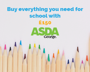Buy everything for school with £150 - Asda George UK