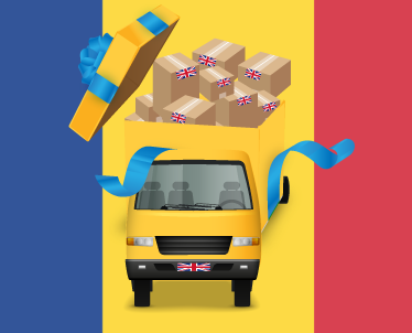 Send your shopping and gifts to Romania