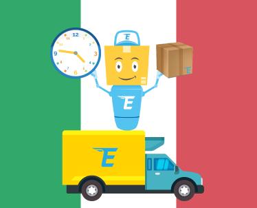 Detalii de livrare pentru coletele care provin din Italia