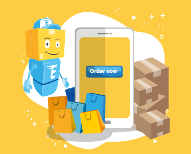 Get your 1st  International Delivery for FREE!