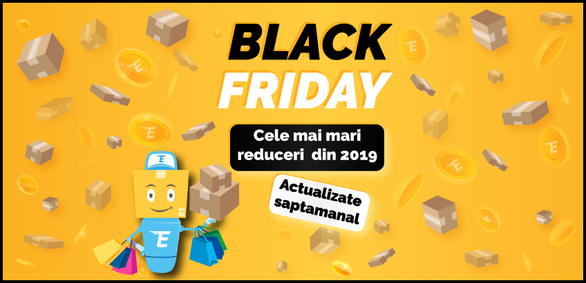 Dezvaluim primele oferte de Black Friday 2019!