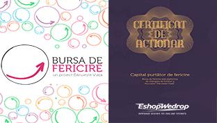 EshopWedrop doneaza pe Bursa de Fericire